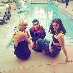Pin for Later: Quand les Stars S'éclatent à Coachella Taylor Swift, Jack Antonoff, et Lorde