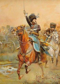 Charge of the French 2nd Hussars