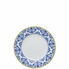 Castelo Branco Bread & Butter Plate | Inspired by the famous Castelo Branco Ornament embroidery. #Bread & #Butter #Vintage #Plate www.vintagemaya.com