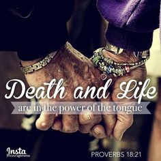 """From '30 Days of Marriage Prayers' by @DrTonyEvans  Pray that God would be in control of YOUR WORDS in your marriage.  '...Your Word tells us that our words are powerful and that our tongues have the ability to give life or to destroy it. Teach us to use our words to give life....'  PROVERBS 18:21  """"Death and life are in the power of the tongue, and those who love it will eat its fruits.""""  #InstaEncouragements #marriage #prayer #wedding Natural Hair Care, Natural Hair Styles, Natural Beauty, Natural Oils, Power Of The Tongue, Old Couples, Fountain Of Youth, Hair Rinse, Skin Care Treatments"""