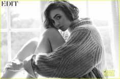 lily collins sam claflin net porter edit feature 06 Sam Claflin leans into Lily Collins in this new shot from Net-A-Porter's newest issue of The Edit.    Check out what the two Love, Rosie stars had to share:   …