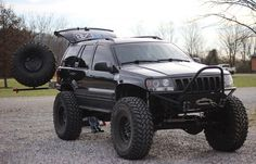 Crawl & Haul — There should be more Grand Cherokees like this. 1999 Jeep Grand Cherokee, Lifted Jeep Cherokee, Jeep Wrangler Lifted, Lifted Jeeps, Jeep Wranglers, Cherokee 4x4, Jeep Wk, Badass Jeep, Jeep Mods