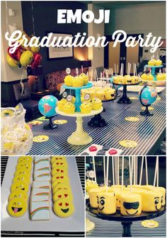 Fiesta Friday/Real Party - Emoji Graduation Party