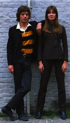 Mick Jagger & Françoise Hardy 1967 • By Jean-Marie Périer