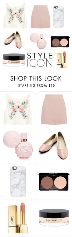 """style icon"" by soph-133 ❤ liked on Polyvore featuring H&M, Topshop, Casetify, PUR and MAC Cosmetics"