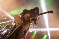 Alpha and his Gibson. / Ghost – Big Day Out 2014, Gold Coast 19/01/14 - Music News, Reviews, Interviews and Culture - Music Feeds