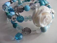 Handmade jewelry - Zoet Geluk #armband #zelfgemaakt #roosjes