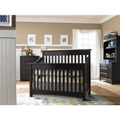 Dream On Me Mia Moda Peyton 5 In 1 Lifestyle Convertible Crib Espresso Dream On Me Babies R Us Cuarto De Bebe Cuartos Habitacion