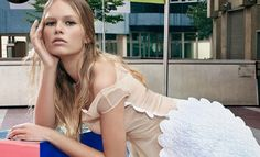 Anna Ewers for W Magazine by Craig McDean