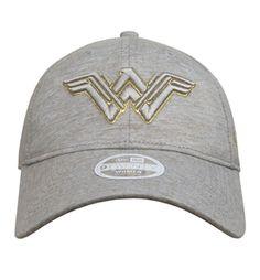 Wonder Woman Movie Logo 9Twenty Adjustable Hat- Front View