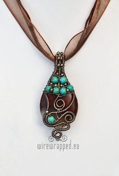 Red jasper teardrop pendants