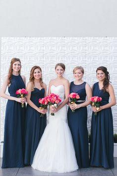 #navyandpinkwedding #arizonabride #azweddingvenue www.soho63.com