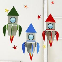 Definitely need these for my little boy's growing fascination with Rocket Ships! From my favorite, The Land Of Nod