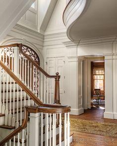 Stephen Fuller Designs - Shingle Style Gallery - foyer