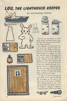 ok a rabbit at sea