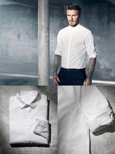The Poplin Slim-Fit Shirt - H&M Modern Essentials Selected By David Beckham