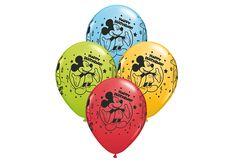BALLON 11'' MICKEY MOUSE 'HAPPY BIRTHDAY' (25)