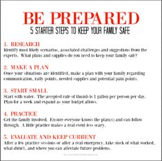 Easy steps to stay safe