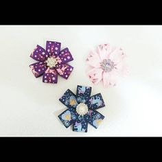 Hey, I found this really awesome Etsy listing at https://www.etsy.com/listing/230446138/pretty-donut-flower-with-exclusive