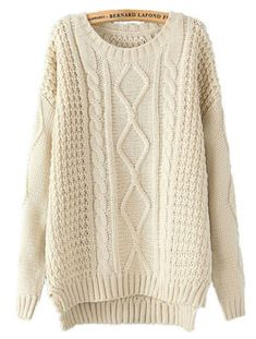 classic cable knit sweater, for those days when I feel like an irish fisherman