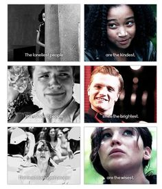 They could have used a better picture for Peeta, cause he literally looks stalkishly paranoid. Lol!!