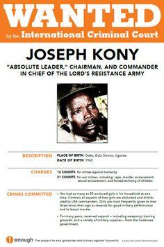 Make him Famous!  Joseph Kony 2012