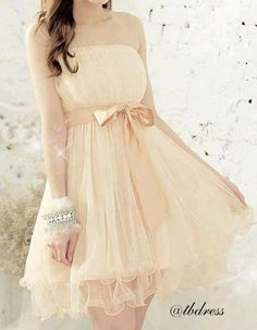 Vestido delicado, fica muito fofo *...*