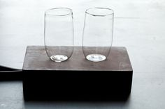 Large glasses; great for ice tea and summer drinks. Each holds about a full bottle of beer. 11 - 14 ounces5