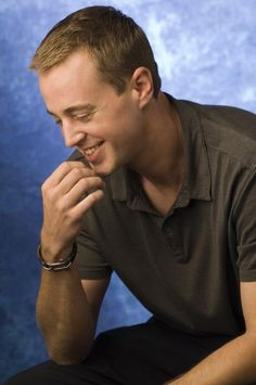 Sean Murray, Timothy McGee on NCIS.  HE'S SO DAMN CUTE!!  I JUST WANT TO HUG HIM!!!