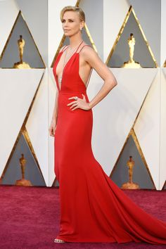 Charlize Theron aux Oscars 2016