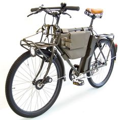 Actually a Swiss military issue bike for bicycle-infantry units, but would make a stellar commuter