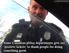 Good Guy Canadian Officer...