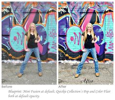 Enhance a Graffiti Wall with Extreme Color Pop and Contrast in Photoshop.