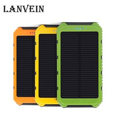 10000mAh mobile power Solar Charger Waterproof Solar Phone External Battery Dual USB Power Bank for smartphone  With LED Light //Price: $US $15.49 & FREE Shipping //     #iphone