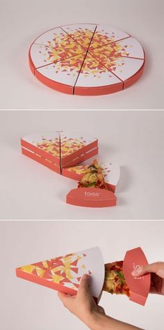 """""""New level of packaging . Food Box Packaging, Cool Packaging, Food Packaging Design, Brand Packaging, Pizza Box Design, Pizza Project, Seed Starter Kit, Creative Pizza, Carton Design"""