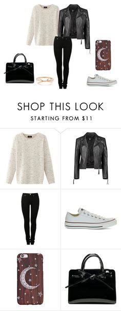 """""""Fall. Autumn. Cold."""" by christina29-2 ❤ liked on Polyvore featuring Nolita, Boohoo, MM6 Maison Margiela and Converse"""