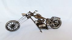 recicled metal bike