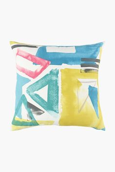 Printed Copacabana Scatter Cushion, 50x50cm - Cushions, Covers & I