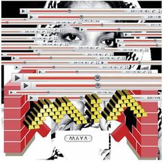 M.I.A. - Maya, CD