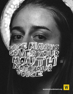 Women's Fund Print Advert By Ultrafresh: Words masks | Ads of the World™ Creative Advertising, Advertising Poster, Advertising Campaign, Advertising Design, Social Campaign, Graphic Design Projects, Graphic Design Posters, Graphic Design Inspiration, Work Inspiration