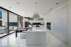 Cuisine d'intérieur blanc