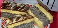 Výborný koláčik s makovou piškótou a citrónovou plnkou...