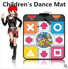 Children's Day Gifts Baby Play Mat,Children's dance mat  Music Blanket Free shipping $25.67