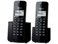 Telefone Sem Fio Panasonic + Ramal - Ident. de Chamadas Agenda Telefônica - TGB112 com as melhores condições você encontra no Magazine Jsantos. Confira!