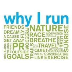 Just so many great reasons to run :)