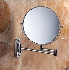 Modern bathroom mirror make up folding bathroom mirror wall mounted mirror folding cosmetic mirror double faced 3x - http://furniturefromchina.net/?product=modern-bathroom-mirror-make-up-folding-bathroom-mirror-wall-mounted-mirror-folding-cosmetic-mirror-double-faced-3x-2