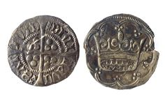 """51. Anglo-Norman Coins. The significant thing about these coins is not the objects themselves. It is the gap of almost 200 years between them. Coins are tokens of the health of the colonial Anglo-Norman economy in Ireland. That the colony produced virtually no new coins for such an extensive period is striking evidence of the series of disasters that overtook it during the 14th century. """"When sorrows come,"""" says Hamlet, """"they come not single spies, but in battalions."""""""