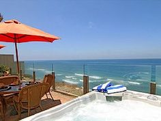 Expensive but great Single family 8br, 6.5ba home on the ocean, private spa, fireplace, patioVacation Rental in Encinitas from @homeaway! #vacation #rental #travel #homeaway