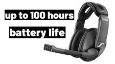 Sennheiser GSP 370 Wireless Gaming Headset up to 100 hours battery life Gaming Headset, Online Courses, The 100, Headphones, Tech, Life, Headpieces, Ear Phones, Technology