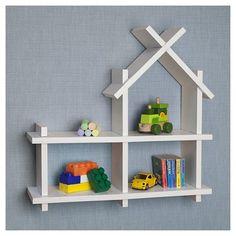 Danya B House Design Wall Shelf - White